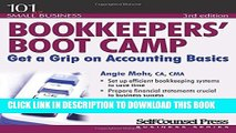 Collection Book Bookkeepers  Boot Camp: Get a Grip on Accounting Basics (101 for Small Business)