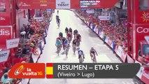 Resumen - Etapa 5 (Viveiro / Lugo) - La Vuelta a España 2016