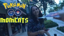 Funny/Crazy Moments Caught While Playing Pokemon Go #2