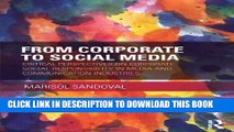 [PDF] From Corporate to Social Media: Critical Perspectives on Corporate Social Responsibility in