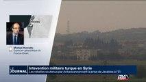 Intervention militaire turque en Syrie : les rebelles soutenus par Ankara annoncent la prise de Jarables à l'EI