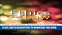 Collection Book Ethics and Law for School Psychologists