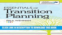 Collection Book Essentials of Transition Planning