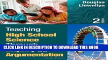 New Book Teaching High School Science Through Inquiry and Argumentation