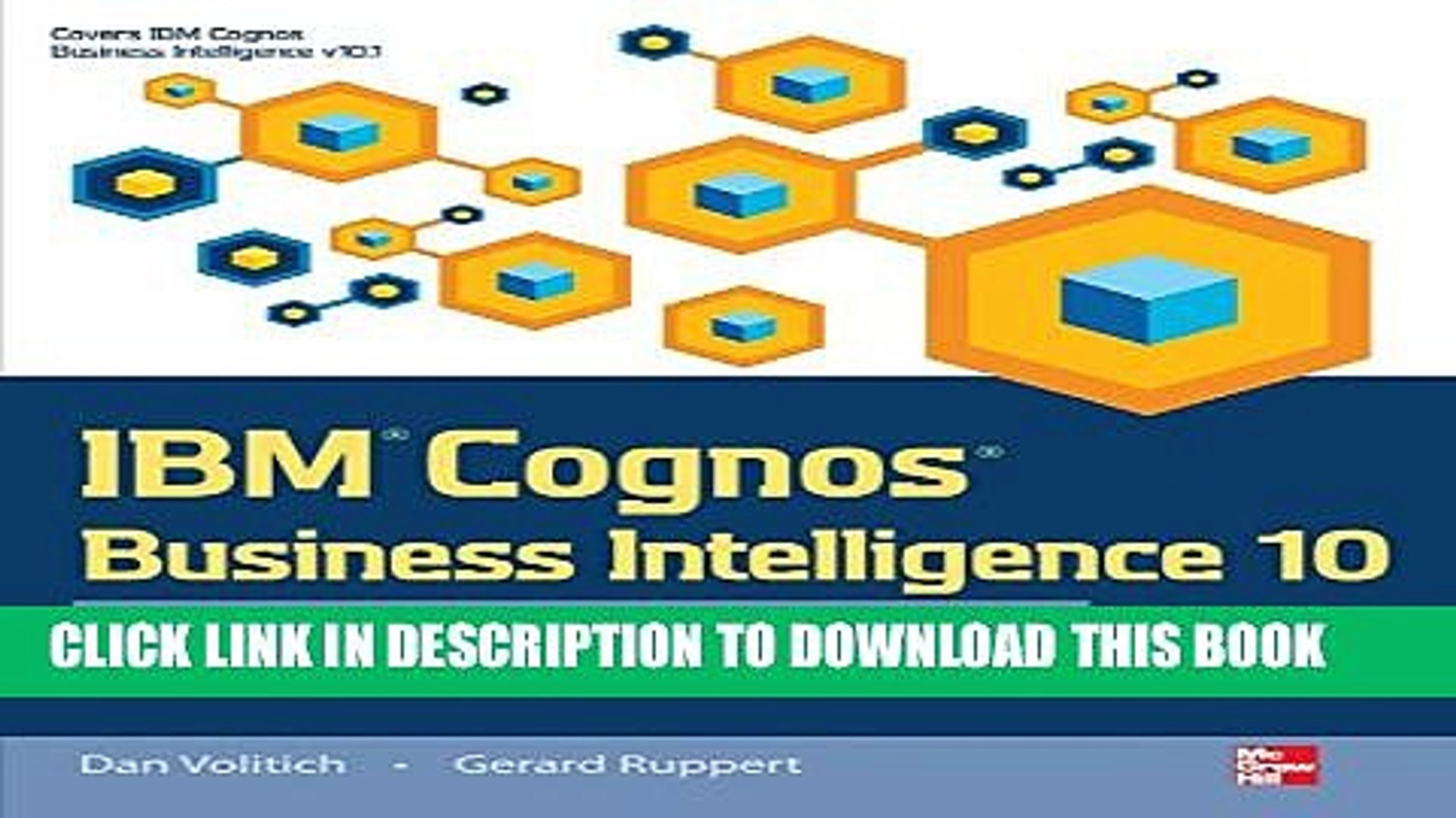 [Download] IBM Cognos Business Intelligence 10: The Official Guide  Paperback Free