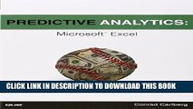 Collection Book Predictive Analytics: Microsoft Excel