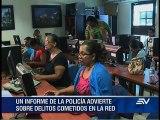 Delitos informáticos en Guayas y Pichincha