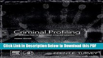 PDF Download Criminal Profiling Fourth Edition An