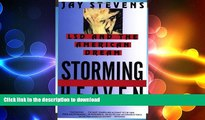 GET PDF  Storming Heaven: LSD and the American Dream  GET PDF