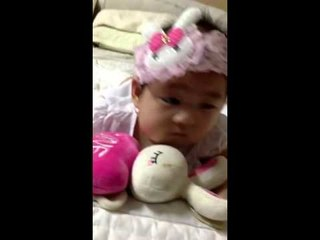 Cherry móm mém nhai trầu Cherry 3 tháng tuổi