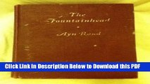 [PDF] The Fountainhead. By Ayn Rand. Blakiston Edition Ebook Free