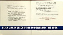 [PDF] The Selected Plays of Thomas Middleton (Plays by Renaissance and Restoration Dramatists)