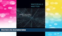 READ FREE FULL  Materials Matter: Toward a Sustainable Materials Policy (Urban and Industrial