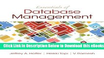 [Reads] Essentials of Database Management Online Ebook
