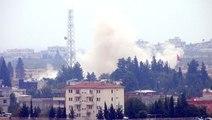 Karkamış Sınır Kapısı'nın Suriye Tarafında Büyük Patlama!