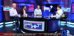 Mubashar Luqman harshly criticizes Waseem Akhtar by playing his clip from his media talk
