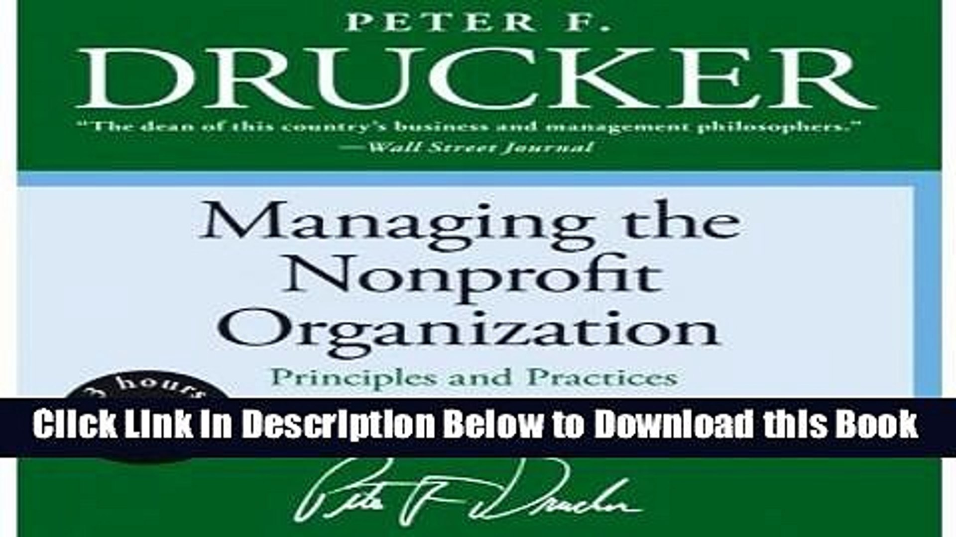 [Reads] Managing the Non-Profit Organization Low Price CD Online Ebook