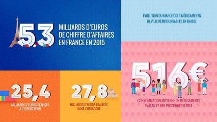 Les entreprises du médicament en France - Bilan économique 2015