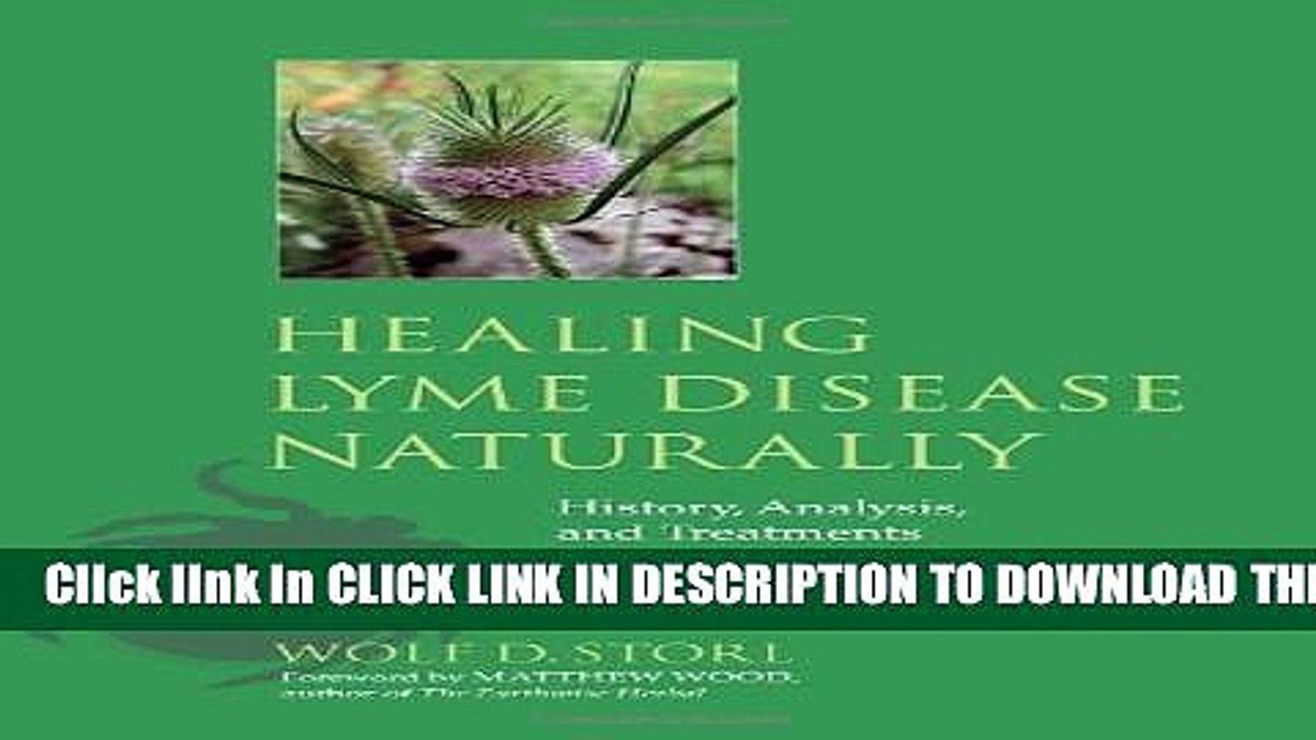 [PDF] Healing Lyme Disease Naturally: History, Analysis, and Treatments  Popular Online