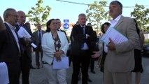 Emmanuelle Cosse en déplacement à la Rochelle : efficacité énergétique et rénovation urbaine