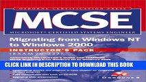New Book Mcse Migrating from Windows NT to Windows 2000 Instructor s Pack