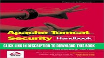 New Book Apache Tomcat Security Handbook