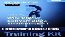 New Book MCSE Self-Paced Training Kit (Exams 70-290, 70-291, 70-293, 70-294): Microsoft® Windows