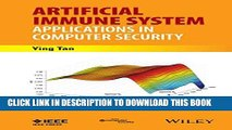 Collection Book Artificial Immune System: Applications in Computer Security