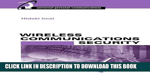 New Book Wireless Communications Security