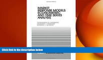 READ book  Market Response Models: Econometric and Time Series Analysis (International Series in