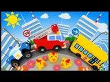 Apprendre Les chiffres en chanson avec les voitures - Vroum vroum Touni