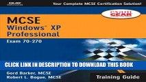 New Book MCSE Training Guide (70-270): Windows XP Professional