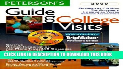 Collection Book Peterson s Guide to College Visits 2000