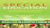New Book Special Education, Video-Enhanced Pearson eText with Loose-Leaf Version -- Access Card