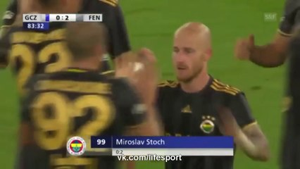Grasshoppers vs Fenerbahce (0-2) Full Highlights 25/08/2016 ~ Europa League - Qualification [HD]