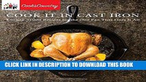 [PDF] Cook It in Cast Iron: Kitchen-Tested Recipes for the One Pan That Does It All (Cook s