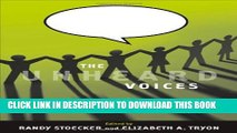 New Book The Unheard Voices: Community Organizations and Service Learning