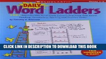 Collection Book Daily Word Ladders: Grades 1–2: 150+ Reproducible Word Study Lessons That Help