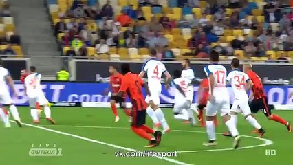 Shakhtar Donetsk vs Basaksehir (2-0) Full Highlights 25/08/2016 ~ Europa League - Qualification [HD]