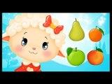 Pomme pêche poire abricot - comptine sur les fruits pour les enfants