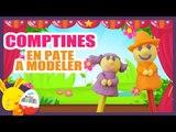 Les comptines Ainsi font font font en pâte à modeler Play-Doh - Titounis