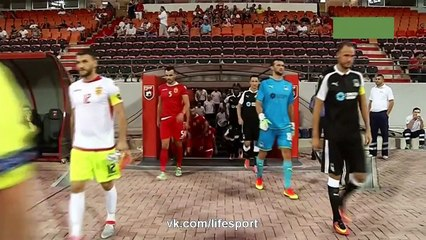 Partizani vs Krasnodar (0-0) Full Highlights 25/08/2016 ~ Europa League - Qualification [HD]