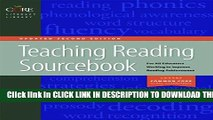 New Book Teaching Reading Sourcebook Updated Second Edition (Core Literacy Library)