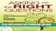 New Book Asking the Right Questions: Tools for Collaboration and School Change