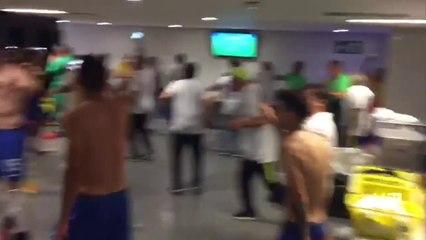 e8f4ec61b7 VÍDEO  Veja os bastidores da Seleção Brasileira na conquista olímpica