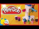 Play-Doh - Mega glacier - Pâte à modeler - Machine à glaces - Touni Toys