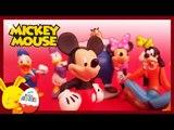 Mickey Mouse – Jouets personnages pour les enfants - La maison de Mickey -Titounis