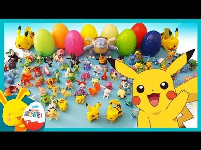 Toys Et Jouets Les Go Enfants Défi Touni Oeufs Surprises Pokemon Pikachu Le Pour dxshtrCQ