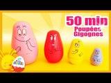 Poupées gigognes russes - 50 min de Surprises Disney pour les enfants - Titounis