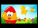 La comptine de Pâques - Oeufs en chocolats et cloches de Pâques en chanson - Titounis